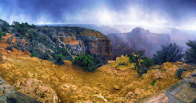 Photograph - Grand Canyon Xv by C H Apperson