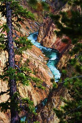 Grand Canyon  Yellowstone Art Print by Russell  Barton