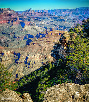 Earth Photograph - Grand Canyonyaki Point by LeeAnn McLaneGoetz McLaneGoetzStudioLLCcom