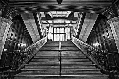 Stair Case Photograph - Grand Case by CJ Schmit