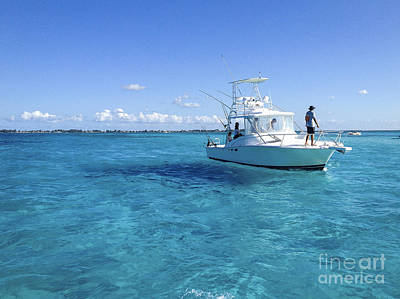 Photograph - Grand Cayman Blue by Joann Long