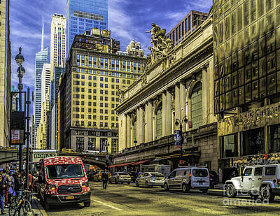 Photograph - Grand Central At 42nd St by Nick Zelinsky