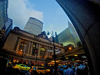 Photograph - Grand Central At 5 by Steven Lapkin