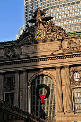 Photograph - Grand Central At Christmas by Mike Martin
