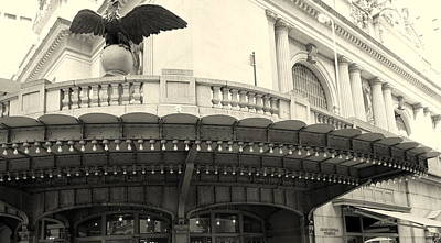 Grand Central Detail Art Print by Dan Stone