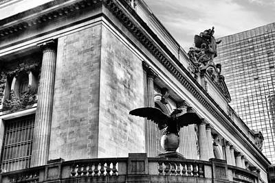 Terminal Photograph - Grand Central Eagle by Jessica Jenney