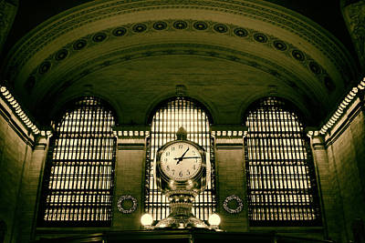 Rush Hour Digital Art - Grand Central  by Jessica Jenney