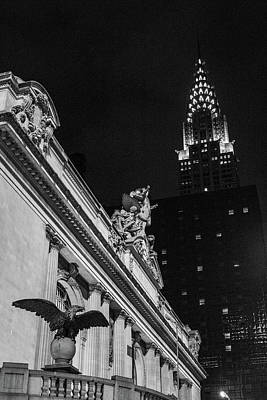 Photograph - Grand Central Niights by Robert J Caputo