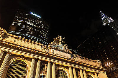 Photograph - Grand Central Nocturne by Steven Richman