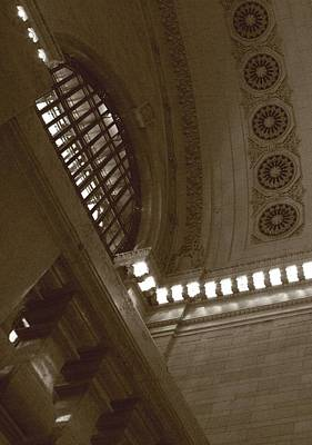 Photograph - Grand Central Rosettes by Christopher Kirby