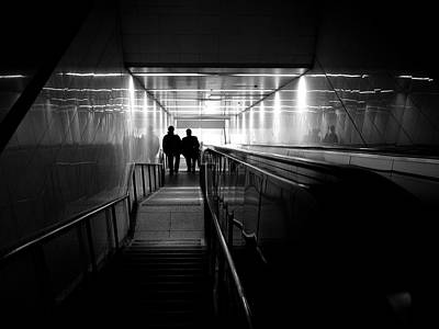 Photograph - Grand Central Staircase by M G Whittingham