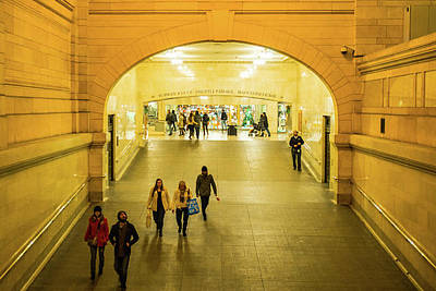 Photograph - Grand Central Station by Claudia Heidelberger