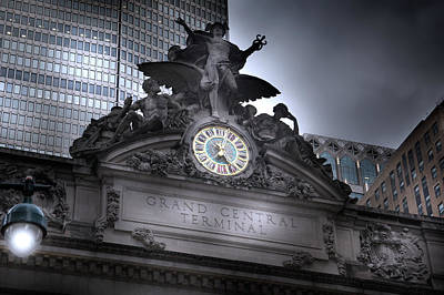 Photograph - Grand Central Station Entrance by Mark Andrew Thomas