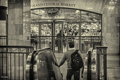 Photograph - Grand Central Station by Fran Gallogly