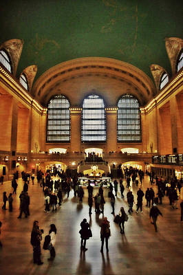 Photograph - Grand Central Station by Lorella Schoales