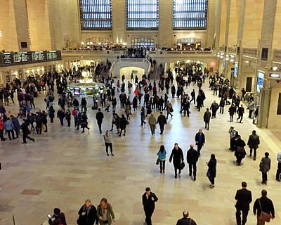 Photograph - Grand Central Station by Loretta Luglio