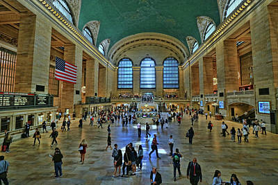 Grand Central Station Main Concourse # 2 Art Print