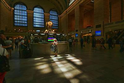 Grand Central Station Main Concourse Spotlight Art Print