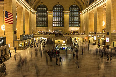Grand Central Station Photograph - Grand Central Station by Martin Newman