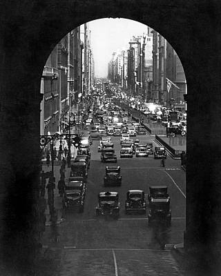 Grand Central Station Photograph - Grand Central Station Portal by Underwood & Underwood