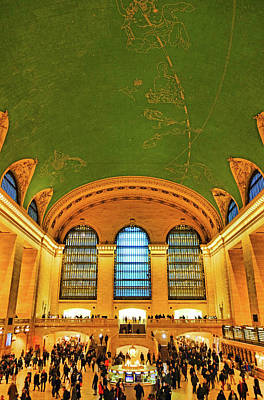 Photograph - Grand Central Station Study 1 by Robert Meyers-Lussier