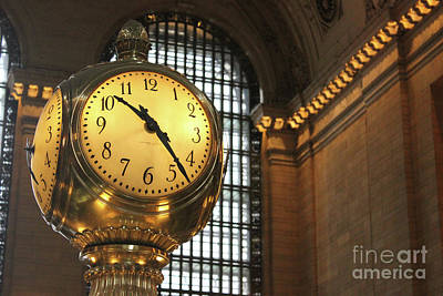 Photograph - Grand Central Station by Wilko Van de Kamp