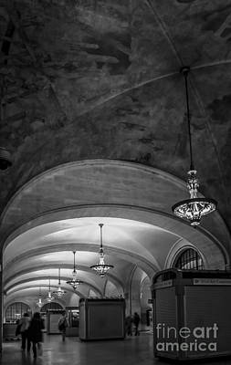 Grand Central Terminal - Arched Corridor Art Print by James Aiken