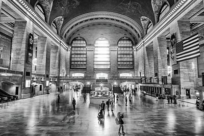 Photograph - Grand Central Terminal by Framing Places