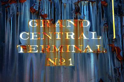 Photograph - Grand Central Terminal No 1 by Karol Livote