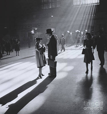 Collier Photograph - Grand Central Terminal Nyc by Photo Researchers