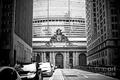 Photograph - Grand Central Terminal Park Avenue View by John Rizzuto