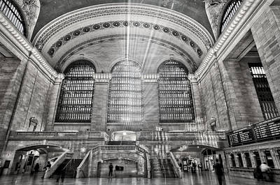 Concourse Photograph - Grand Central Terminal Station by Susan Candelario