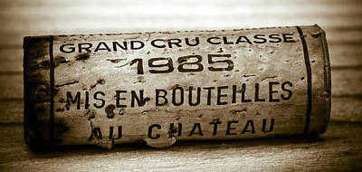 Photograph - Grand Cru Classe 1985 by Frank Tschakert