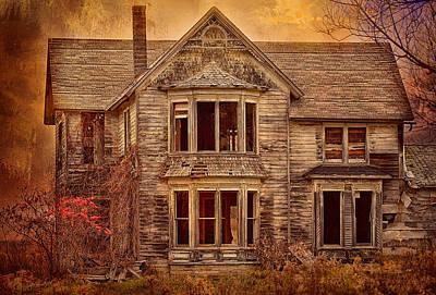 Photograph - Grand Deserted Architecture by Bernadette Chiaramonte