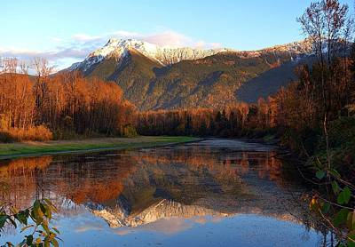 Photograph - Mount Cheam, British Columbia by Heather Vopni