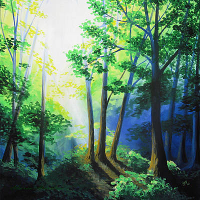Nature Painting - Grand Entrance by Sharon Marcella Marston