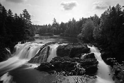 Photograph - Grand Falls Of The Dead by John Meader