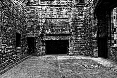 Photograph - Grand Fireplace by Scott Hill
