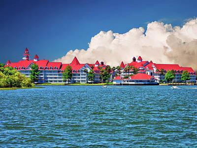 Grand Floridian Resort And Spa Art Print