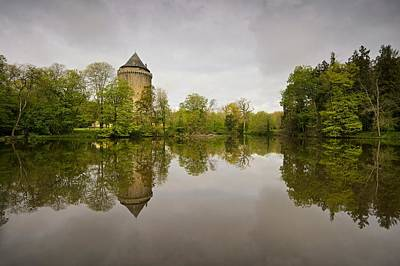 Photograph - Grand Fougeray Reflections by Stephen Taylor