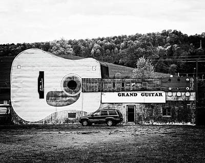 Photograph - Grand Guitar by Alan Raasch