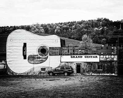 Photograph - Grand Guitar by Alan Raasch