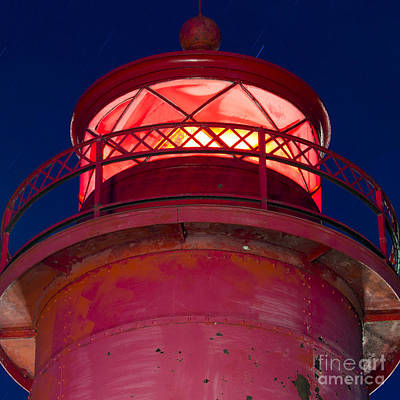 Grand Haven Light Print by Twenty Two North Photography