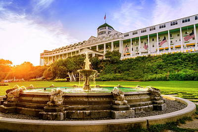 Photograph - Grand Hotel by Alexey Stiop