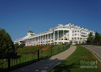 Photograph - Grand Hotel Mackinac Island 2 by Rachel Cohen