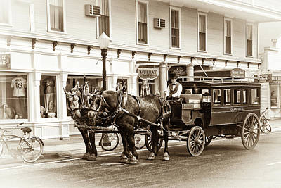 Photograph - Grand Hotel Shuttle 10331 by Guy Whiteley