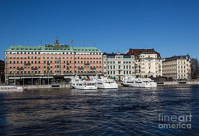 Photograph - Grand Hotel Stockholm by Suzanne Luft