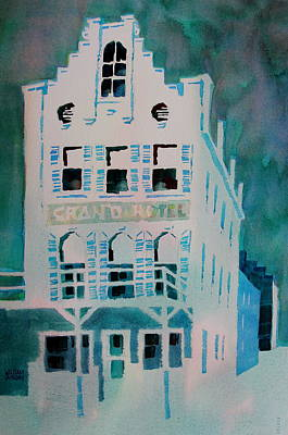 Painting - Grand Hotel by William Duncan