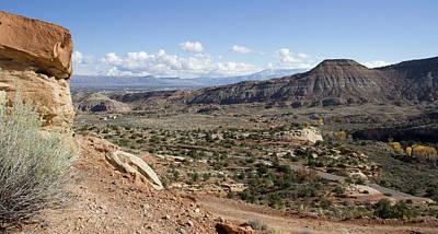 Photograph - Grand Junction Sandstone by Dylan Punke
