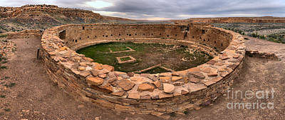 Photograph - Grand Kiva At Casa Rinconada by Adam Jewell